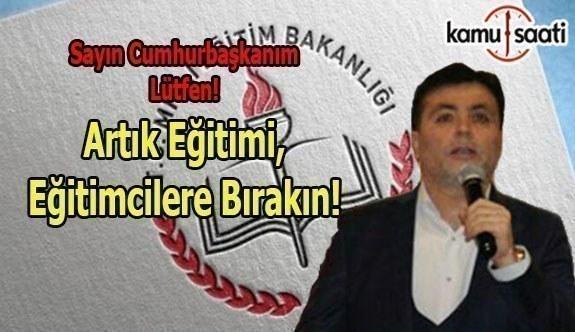 TEOG VE EĞİTİM SİSTEMİMİZDEKİ YANLIŞLAR! - Ahmet Aydınsoy'un Kaleminden!