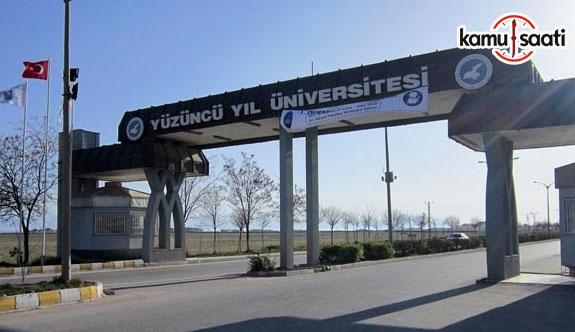 Van Yüzüncü Yıl Üniversitesi Tıp Fakültesi Eğitim-Öğretim ve Sınav Yönetmeliği