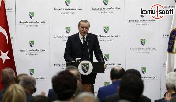 Cumhurbaşkanı Erdoğan: Ayrılıkta zafiyet var, birlikte kuvvet var