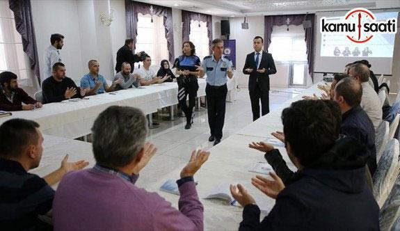 Emniyet personeline işaret dili eğitimi