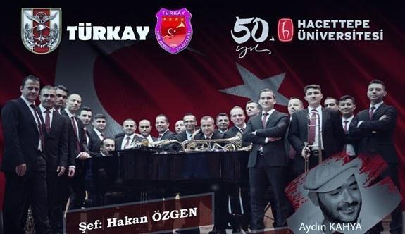 Hacettepe Üniversitesi 50.yıl kutlamaları