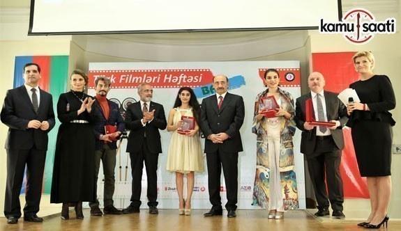 3. Türk Filmleri Haftası-Bakü Sona Erdi