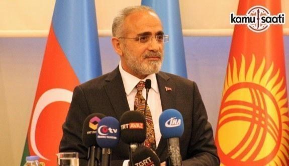 Cumhurbaşkanı Başdanışmanı Topçu, TÜRKSOY tarafından düzenlenen panelde konuştu