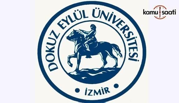 Dokuz Eylül Üniversitesi Lisansüstü Eğitim ve Öğretim Yönetmeliğinde Değişiklik Yapıldı - 27 Kasım 2017
