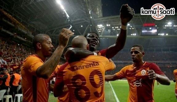 Lider Galatasaray istatistiklerde de zirvede