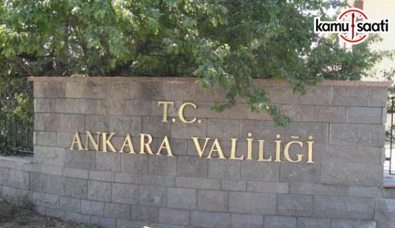Bugün Ankara'da bazı yollar kapalı olacak