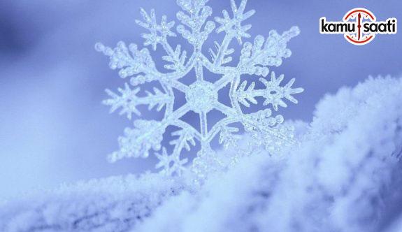 Yarın okullar tatil mi? 7 Aralık 2017 kar tatili olan illerin listesi