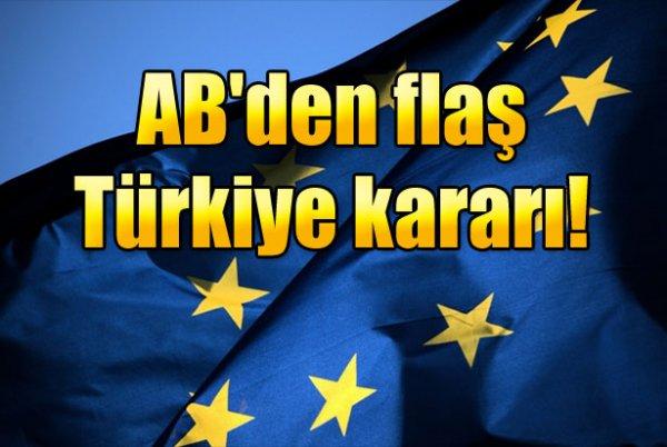 AB Türkiye'yi güvenli ülke listesine alacak