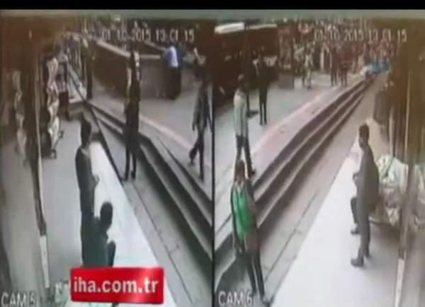 Ankara Dikimevi Otobüs Kazasının Güvenlik Kamerası Görüntüleri