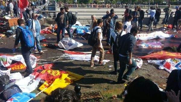 'Ankara patlamasında 106 kişi öldü'