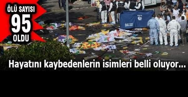 Son dakika! Ankara patlamasında ölü sayısı 95'e yükseldi