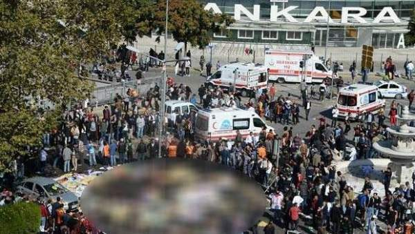Ankara patlamasında ölü sayısı 102'ye yükseldi