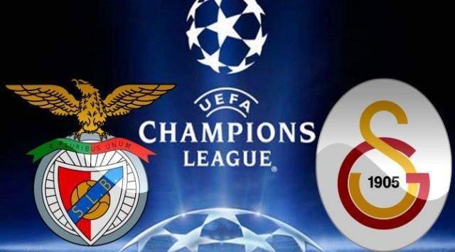 Benfica - Galatasaray maçının ilk 11\'leri belli oldu