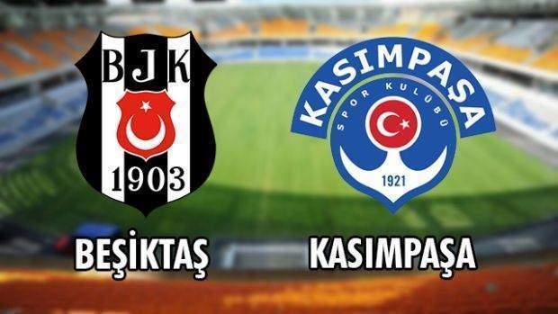 Beşiktaş Kaşımpaşa ile berabere kaldı