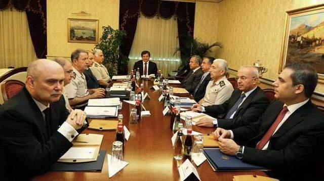 Çankaya Köşkü\'ndeki güvenlik zirvesi toplantısı sonrası açıklama