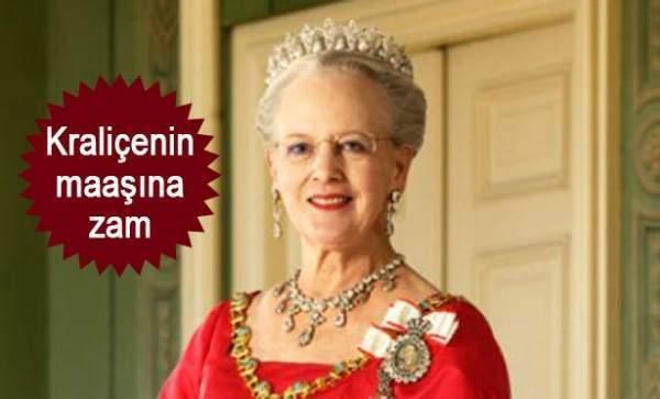 Danimarka kraliçesinin yıllık maaşı 79,5 milyon kron oldu