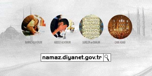 Diyanet'ten özel namaz sitesi