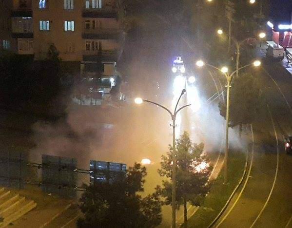 Diyarbakır\'da silahlı çatışma çıktı