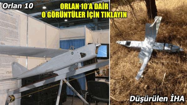 Düşürülen İHA Rus yapımı Orlan-10 mu?