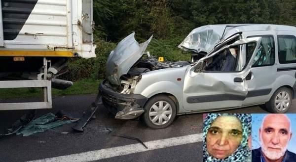 Düzce TEM otoyolunda feci trafik kazası: 2 ölü