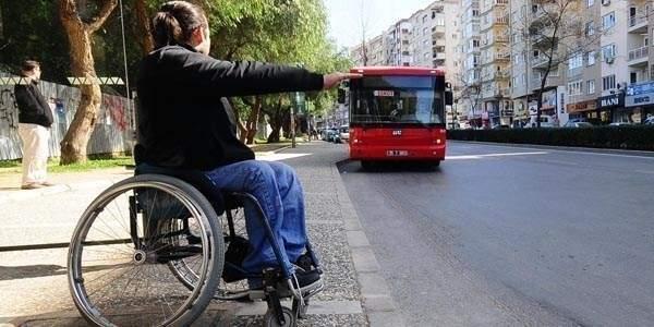 Engellilerden otobüs ücreti alınmayacak