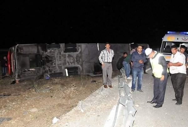 Erzurum'da Kaza: 22 Yaralı