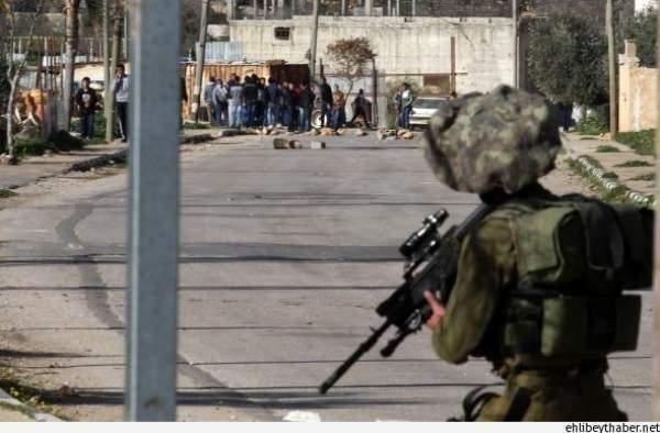 İsrail yine Filistin'e ateş açtı! 10 yaralı var