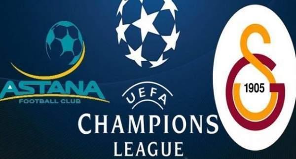 Galatasaray Şampiyonlar Ligi Maçına Hazır