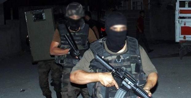Gazi\'de büyük terör operasyonu