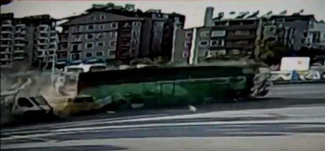 Hatay\'da korkutan trafik kazası
