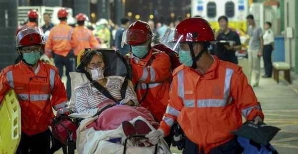 Hong Kong'da yüksek hızlı feribot kazası:120 yaralı