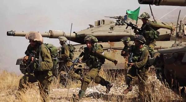 İsrail Suriye sınırında tatbikat yapmak için hazırlanıyor