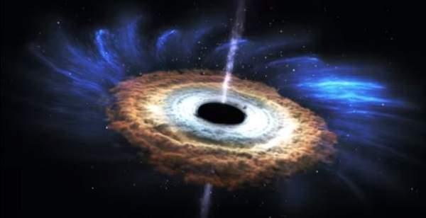 Karadelik yakınında bulunan yıldızı yok etti