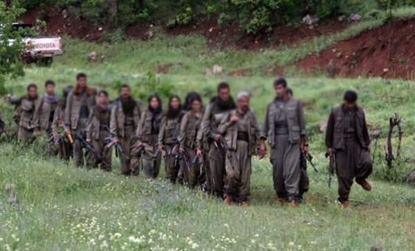 PKK'lılar Suriye'ye Kaçıyor