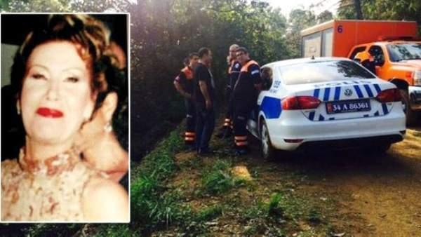 Sema Hunca'nın kaza yapmadan önceki son görüntülerine ulaşıldı