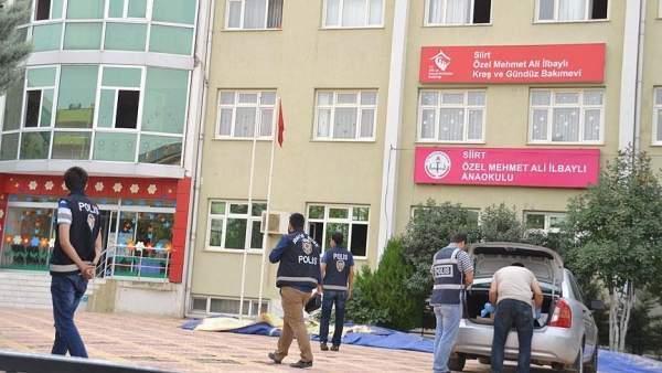 Siirt'te 3 Eğitim-Öğretim Kurumuna Eş Zamanlı Operasyon