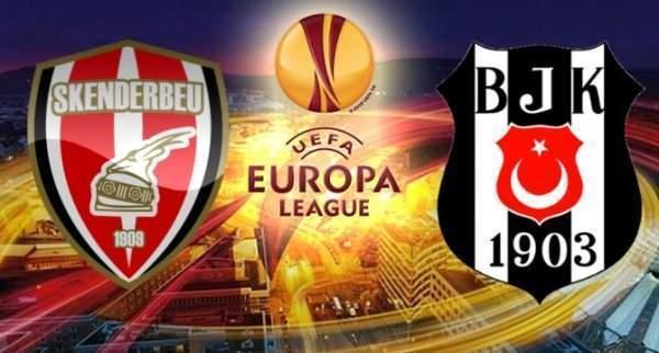 Skenderbeu – Beşiktaş maçı hangi kanalda saat kaçta oynanacak?
