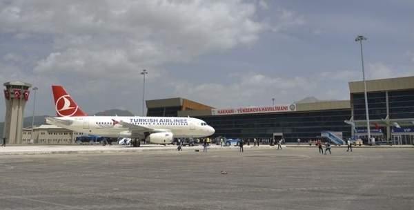 Terör örgütü PKK havalimanına saldırdı