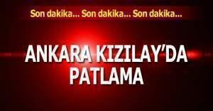 Ankara'da şiddetli patlama! Patlamada son durum Şiddetli patlama bomba yüklü araçla yapıldı, kaç ölü var?