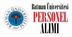 Batman Üniversitesi akademik personel alım ilanı, Batman Üniversitesi akademik personel alımı için başvuru şartları neler?