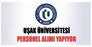 Uşak Üniversitesi Akademik personel alım ilanı, Uşak Üniversitesi Akademik personel alımı için başvuru şartları neler?