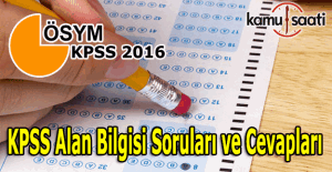 2016 KPSS Hukuk, İşletme,...