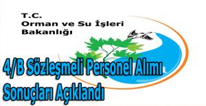 Orman ve Su İşleri Bakanlığı personel alımı sonuçları açıklandı