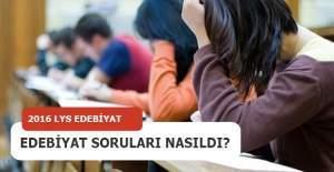 LYS 3 Edebiyat soruları nasıldı?...