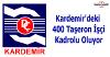Kardemir'deki 400 taşeron kadrolu oluyor