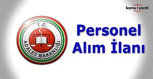 Adalet Bakanlığı 2 bin 371 personel alımı - Başvuru şartları ve tarihi