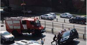 Okmeydanı'nda korkunç kaza