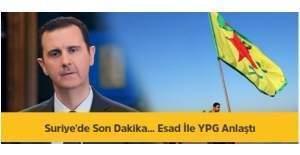 Suriye'de Önemli Gelişme-Esad ile...