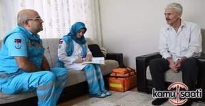 """15 Temmuz gazilerine """"evde sağlık hizmeti"""" uygulaması"""
