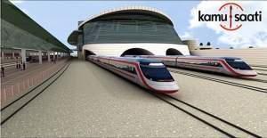 Ankara Yüksek Hızlı Tren Garı yarın...